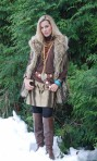 Mountain Wolf Vest ~ 141609 & Pine Ridge Skirt ~ 141309