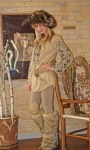 Penelope Tree Tunic~141121, Wild Coyote Hat~141921, & Mountain Wolf Leg Warmers~ 141923