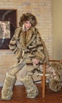 North Woods Coat~141508, Wild Coyote Hat~141921, & Mountain Wolf Leg Warmers~141923