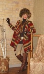 North Woods Cardigan ~ 141509 & Wild Coyote Hat ~ 141921