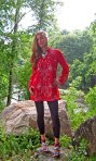 Great Basin Tunic - Rojo
