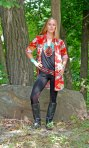 Wild West Print - Four Corners Tunic